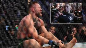 UFC boss Dana White suggests Conor McGregor WILL get another shot at Dustin Poirier as he gives update on gruesome injury