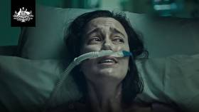 'Still waiting for bloody vaccinations': Australians furious with graphic govt Covid ad telling people to get jabbed
