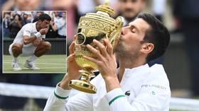Novak Djokovic wins record-equaling 20th Grand Slam as he beats battling Matteo Berrettini to claim Wimbledon title