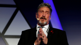 'Sounds like one of John's tweets': McAfee's doubtful widow shares PHOTO of his alleged suicide note