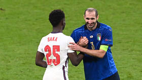 'Kiricocho!' Italy colossus Chiellini responds to claims he used CURSE to hex Saka before Euro 2020 penalty miss