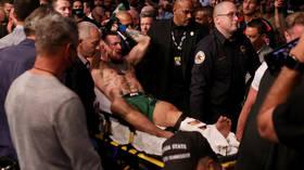 Conor McGregor handed medical suspension until 2022 after UFC 264 leg break