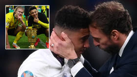 Haaland backs Sancho as England star breaks his silence over Euro final penalty miss, tells society to 'do better' on racial abuse