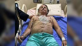 Brazilian President Bolsonaro rushed to hospital after 10 days of hiccups, may need surgery