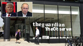 Kremlin says claims Putin ordered campaign to put Trump in power are 'fundamentally untrue' after supposed expose in The Guardian