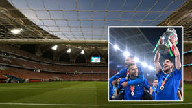 Saudi Arabia 'plotting joint bid with Italy for 2030 World Cup' as England's hopes are on the rocks after Wembley crowd trouble