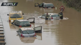 Rail service disrupted & new evacuations ordered in Europe as death toll from floods tops 180