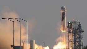 Democrat congressman marks Bezos' suborbital flight by calling for tax on SPACE TOURISM