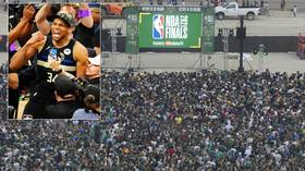 'Terrifying moments': Party turns sour with gunshots reported as Milwaukee fans mark first NBA Finals win in 50 years (VIDEOS)