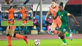 Netherlands score TEN in record Olympics demolition against Zambia – but fans still hail opposition hat-trick hero Banda