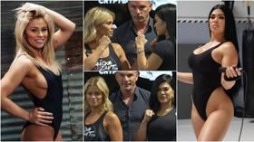'The OnlyFans Championship!' Fans enthralled as combat queens VanZant & Ostovich face off ahead of bare-knuckle showdown (VIDEO)