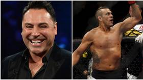 'F*ck this exhibition BS': Oscar De La Hoya's boxing match with ex-UFC star Vitor Belfort now a PROFESSIONAL bout