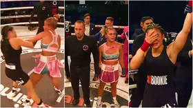 Turn the Paige! Fight siren VanZant STORMS OUT of ring after losing bare-knuckle grudge match to Rachael Ostovich (VIDEO)