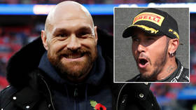 Tyson Fury takes shot at Lewis Hamilton for 'not paying taxes in the UK' as boxing champ moans about lack of award recognition
