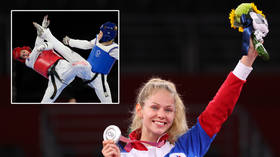 More medals for Russians: Top taekwondo talents Tatiana Minina and Mikhail Artamonov earn silver and bronze at Tokyo Olympics 2020