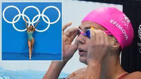 'Money decides everything': Russian swim star Efimova bemoans early start times at 'dishonest' Tokyo Olympics