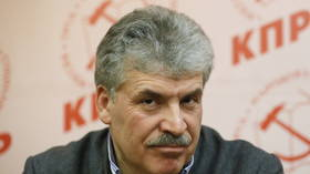 Leading Russian Communist politician Grudinin barred from running in election after ex-wife reveals hidden foreign investments