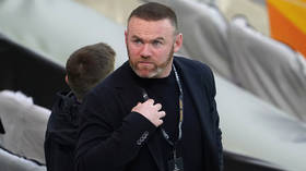 Scandal-hit Wayne Rooney 'injures OWN player' in training as things go from bad to worse for Derby manager