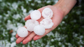 Apocalyptic hailstorm batters northern Italy; traffic halted, people injured & crops destroyed (VIDEOS)