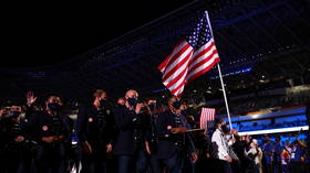 'Leftist' ESPN columnist jeered after claiming US flag-waving at Olympics reminds him of 'rise of white nationalism'