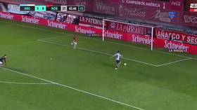 'Blooper of the year': Striker ridiculed for INCREDIBLE MISS in Argentine top-flight match (VIDEO)