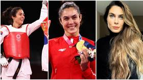Milica Mandic: Meet the Serbian taekwondo beauty who became a double Olympic champion with gold in Tokyo (PHOTOS)