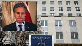SWASTIKA in State Department elevator prompts condemnations from Blinken, Israel