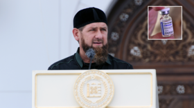 Chechen leader Kadyrov bans locals still unvaccinated against Covid-19 from entering mosques or shops & using public transport