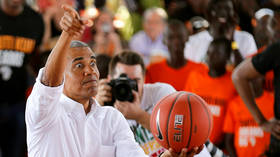 Obama launches partnership with NBA Africa, social media drags up track record (VIDEO)
