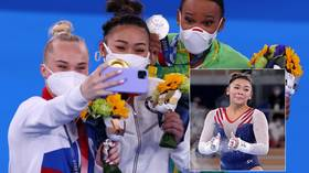 US teen Suni Lee shines in Simone Biles' absence to win all-round gold as ROC star Melnikova claims bronze in Tokyo