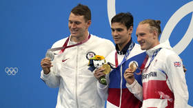 Beaten US swimmer Murphy claims race 'probably not clean' after Russian rival Rylov wins second Tokyo gold