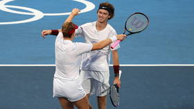 'Absolutely adorable': Mixed doubles duo Pavlyuchenkova and Rublev win hearts on way to booking Olympic final place for ROC
