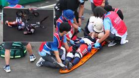 US BMX ace Connor Fields 'awake and awaiting further evaluation' after terrifying crash at Olympic race in Tokyo (VIDEO)