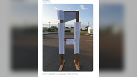 Frenchman to be tried for erecting dummy guillotines with names of politicians who support Macron's health pass