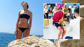 'I said yes': Russian basketball beauty Anastasiia Logunova agrees to marry boyfriend after he proposes on her Olympic return