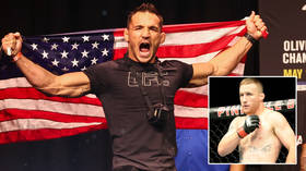 'The literal definition of violence': Fight fans licking their lips as Justin Gaethje and Michael Chandler set to clash at UFC 268