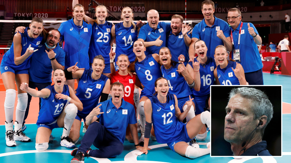 'She might kill somebody': USA coach tells world to 'give Russia a ton of credit', lauds 17yo ace after Olympic volleyball mauling
