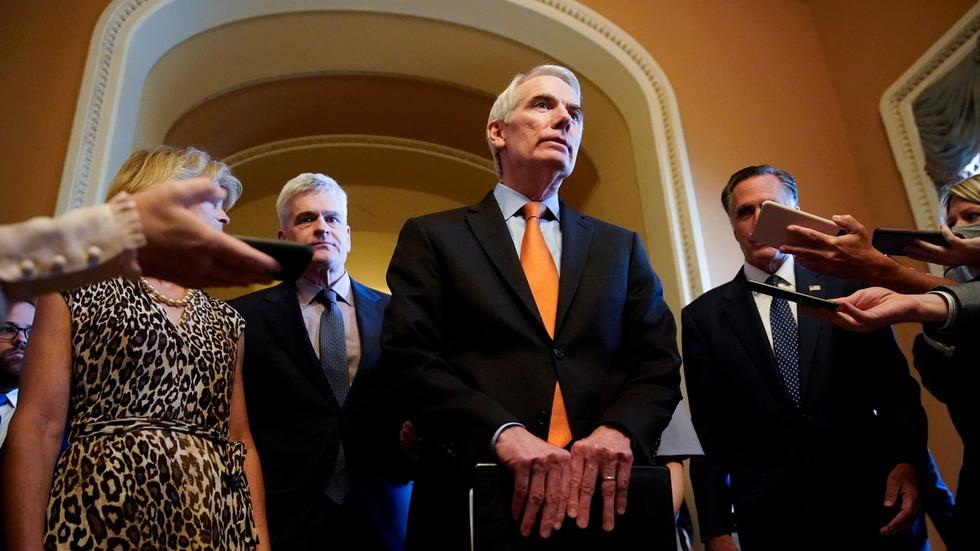 Bipartisan group of Senators unveil trillion infrastructure bill after marathon negotiations