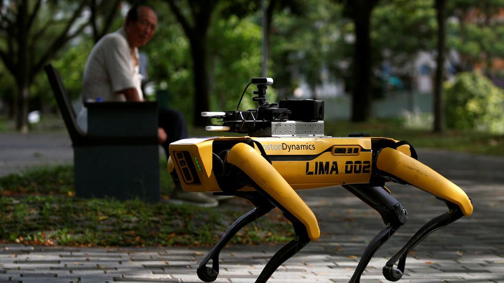 Wie lange noch, bis wir Menschen von Robotern überwacht werden?