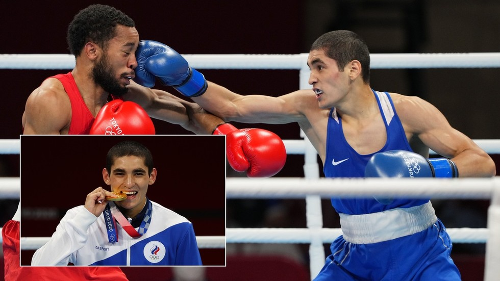 'He promised to win gold and he did': Russian boxer Batyrgaziev denies US rival Ragan to win Olympic title for ROC in Tokyo