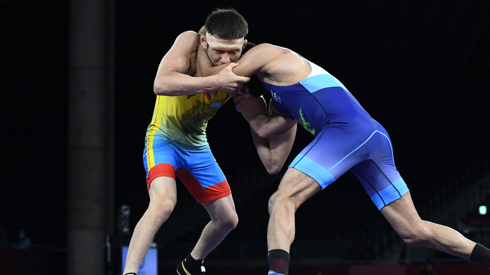 Kazakh wrestler goes unpunished for Olympics bite which outraged India after governing body deems it 'unintentional'