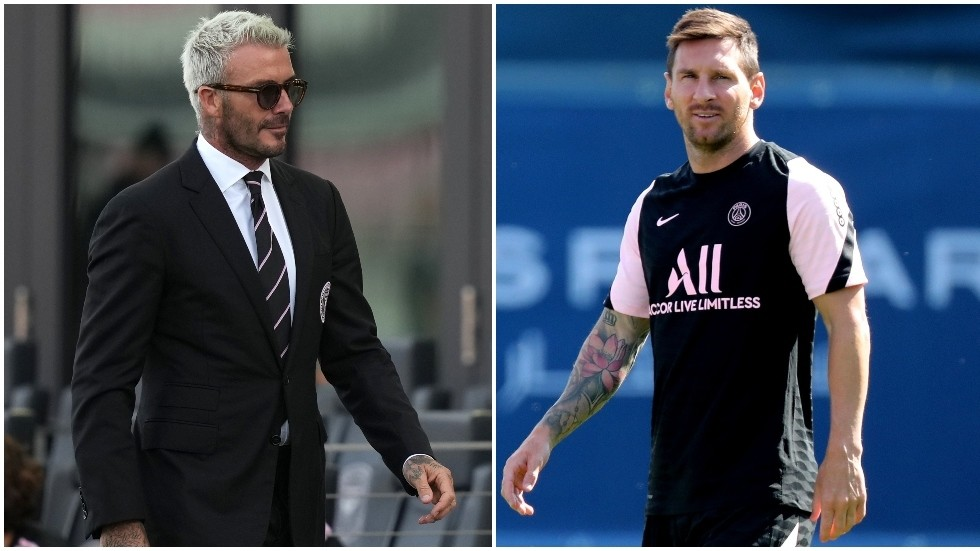 Football news: David Beckham opens talks with Lionel Messi over Inter Miami MLS move after PSG contract finishes