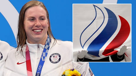 Team USA star Lilly King has appeared to criticize the ROC at the Olympics © Mandi Wright / USA Today Sports via Reuters | © Marko Djurica / Reuters