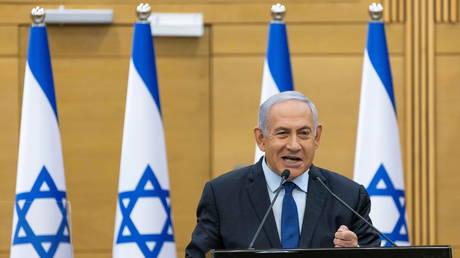 FILE PHOTO: Israel's former prime minister, Benjamin Netanyahu.