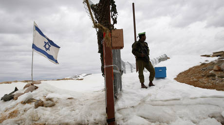 FILE PHOTO. An Israeli soldier stands guard in the Golan Heights. © Reuters / Baz Ratner