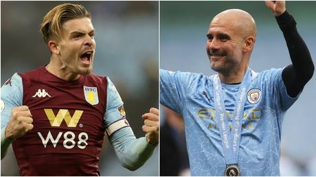 Manchester City have completed the signing of Aston Villa's Jack Grealish. © Action Images via Reuters / Pool via REUTERS