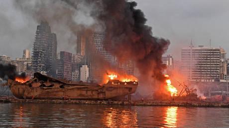 The port of Beirut, Lebanon. © AFP