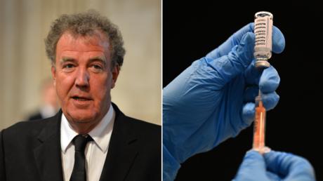 (L)  Jeremy Clarkson. © AFP / BEN STANSALL; (R) © AFP / Ben STANSALL