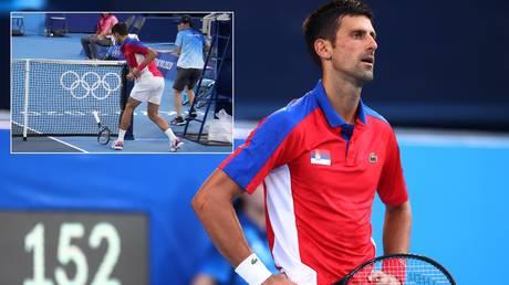 Novak Djokovic is already eyeing the Paris Olympics in 2024. © Reuters / USA Today Sports