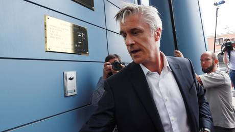 FILE PHOTO. US investor, founder of the Baring Vostok investment fund, Michael Calvey in Moscow, Russia. © Sputnik